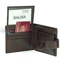 Мужской кожаный кошелек Balisa PY-F005-66 Coffee, фото 3