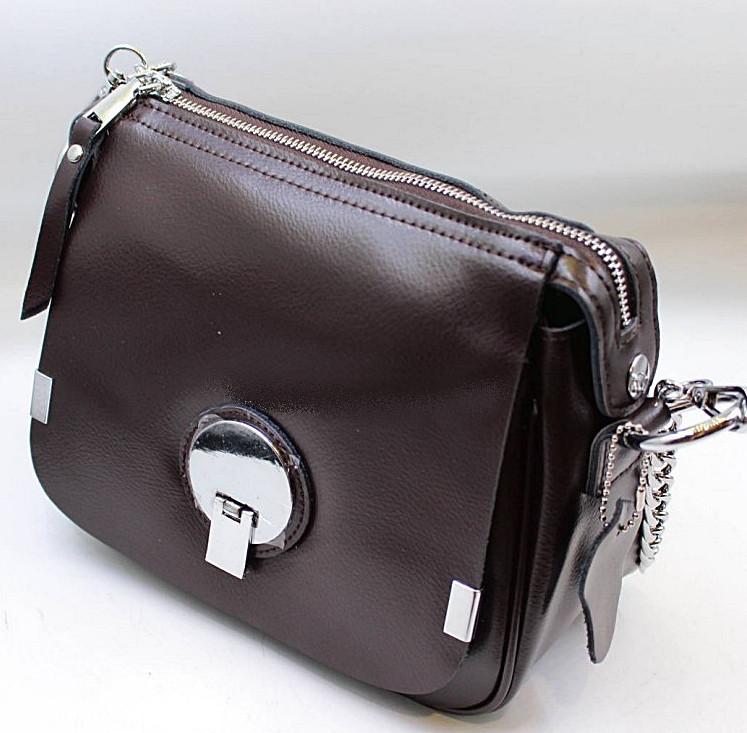 fa5bb64a06ce Женский кожаная сумка клатч 965 coffee женские клатчи из натуральной кожи купить  недорого