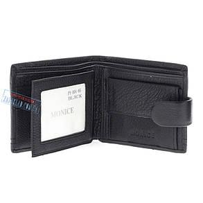 Мужской кожаный кошелек Balisa PY-004-65 Black, фото 2