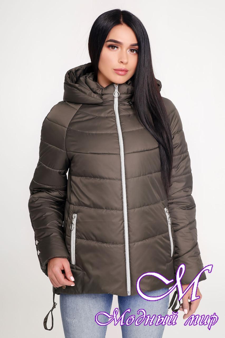 Женская осенняя куртка (р. 44-58) арт. 1099 Тон 69