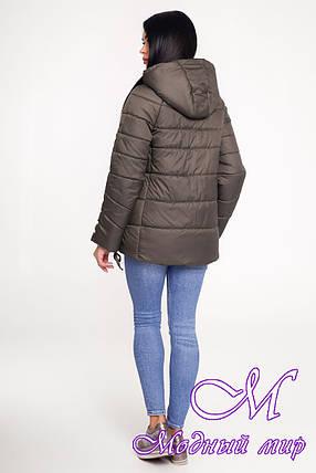 Женская осенняя куртка (р. 44-58) арт. 1099 Тон 69, фото 2
