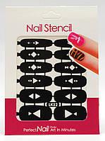 Трафареты для ногтей LK-22