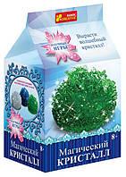 """0273 Набір для дослідів """"Магічний кристал. Зелений"""" 12138014Р"""