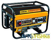 Генератор бензиновый Sigma 3.5 кВт ручной запуск