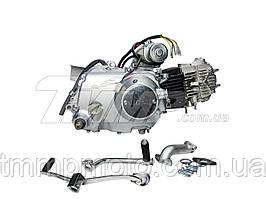 Двигатель110см3 Актив / Дельта-110см3 52,4мм  АЛЬФА ЛЮКС механика