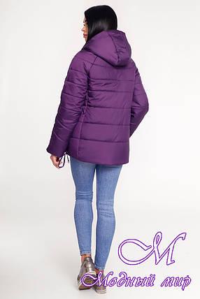 Жіноча осіння куртка великі розміри (р. 44-58) арт. 1099 Тон 33, фото 2