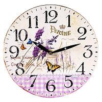 """Настінний годинник """"Pivoine"""" (29 см. МДФ), фото 1"""