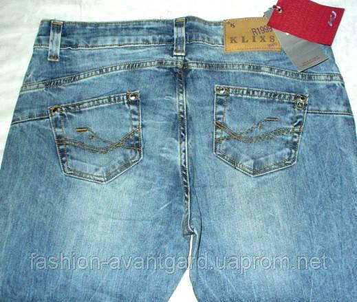 """Джинсы женские Klixs Jeans (Италия) - Интернет- магазин """"Fashion-Avantgard"""" в Никополе"""