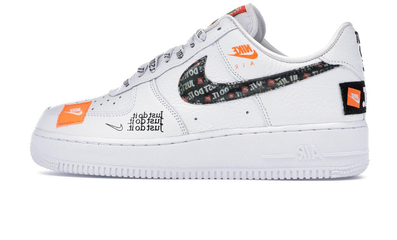 660c9b869a352f Мужские Кроссовки Nike Air Force 1 Just Do It Pack White — в ...