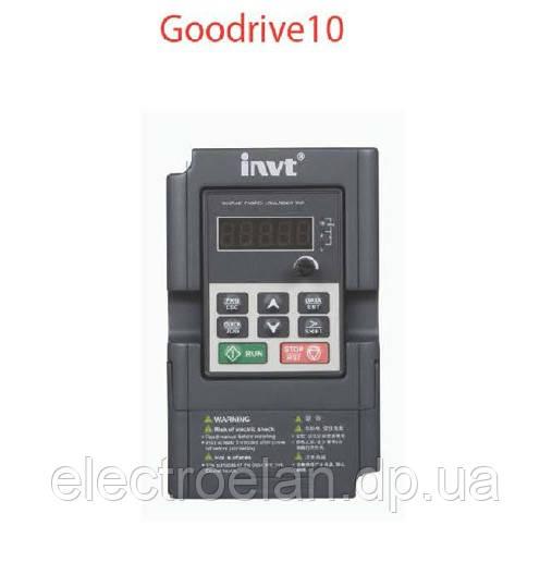 Преобразователи частоны INVT GD10, фото 1