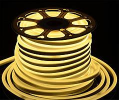 Светодиодный неон Prolum SMD2835, 3000К, 120шт/м, 10W/m, IP68, 220V