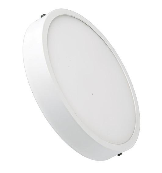 Потолочный светильник накладной 18W 4000K круглый белый Код.59348