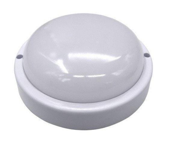 Светодиодный светильник для ЖКХ 8W  6000K круглый IP65 Код.59350