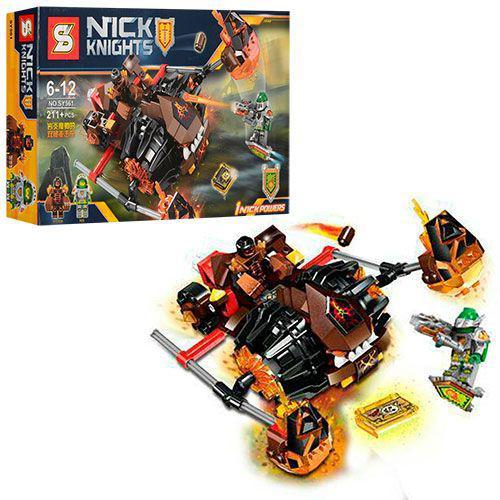 """Конструктор Nexo Knight SY561 (Нексо Рыцари, аналог Лего) """"Лавинный разрушитель Молтора"""",  211 дет."""