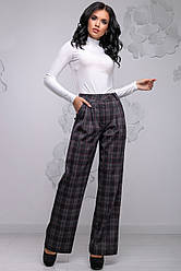 Свободные широкие женские брюки 2756