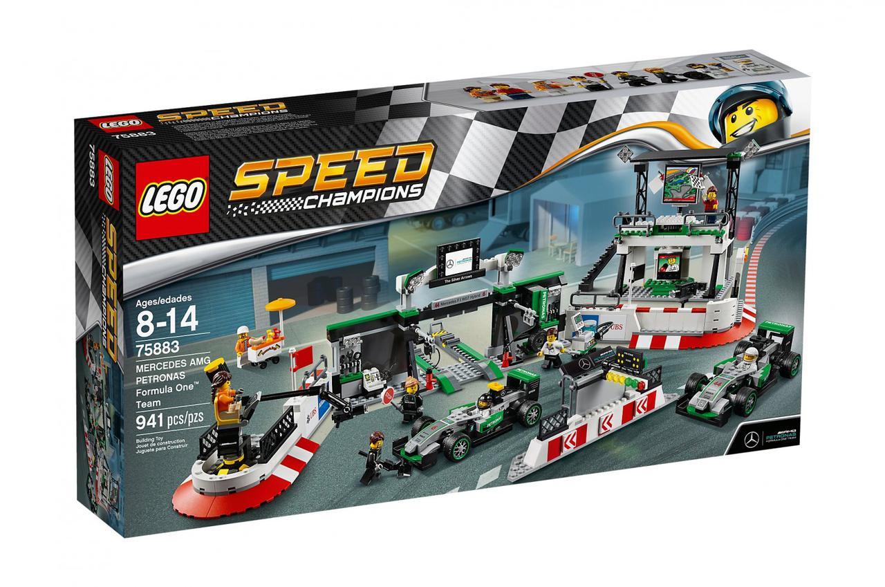 Konstruktor Lego 75883 Speed Champions Formula 1 Mercedes Amg