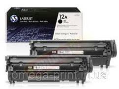 Картридж HP LJ 1010, (Q2612AD/12A, 2ХQ2612A)