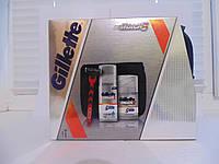 Подарочный Набор для бритья Gillette Mach 3 (3 в 1)
