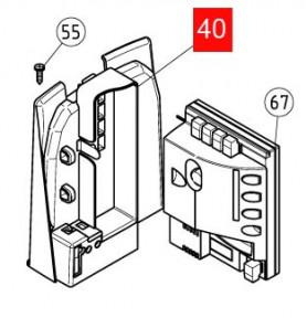 Кронштейн крепления контроллера ROBUS350 RD400 (PPD0951R04.4540)