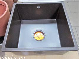 Мойка кухонная гранитная Evistone Cuve P-440 espresso