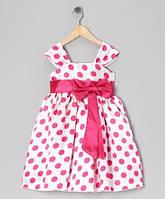 """Платье для девочки """"Горошки"""" 4,6,8 лет"""