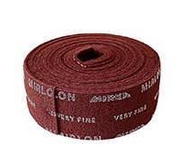 Скотч-брайт в рулоне MIRKA Mirlon (Мирлон) 115мм x 10м VF 360 (красный)