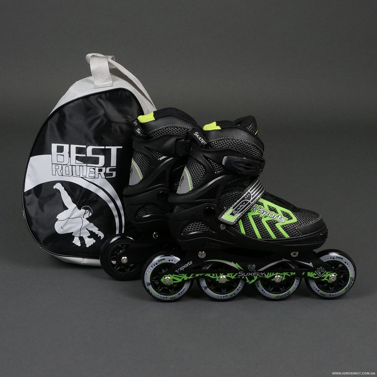 """Ролики 9015 """"M"""" Green - Best Rollers /размер 35-38"""