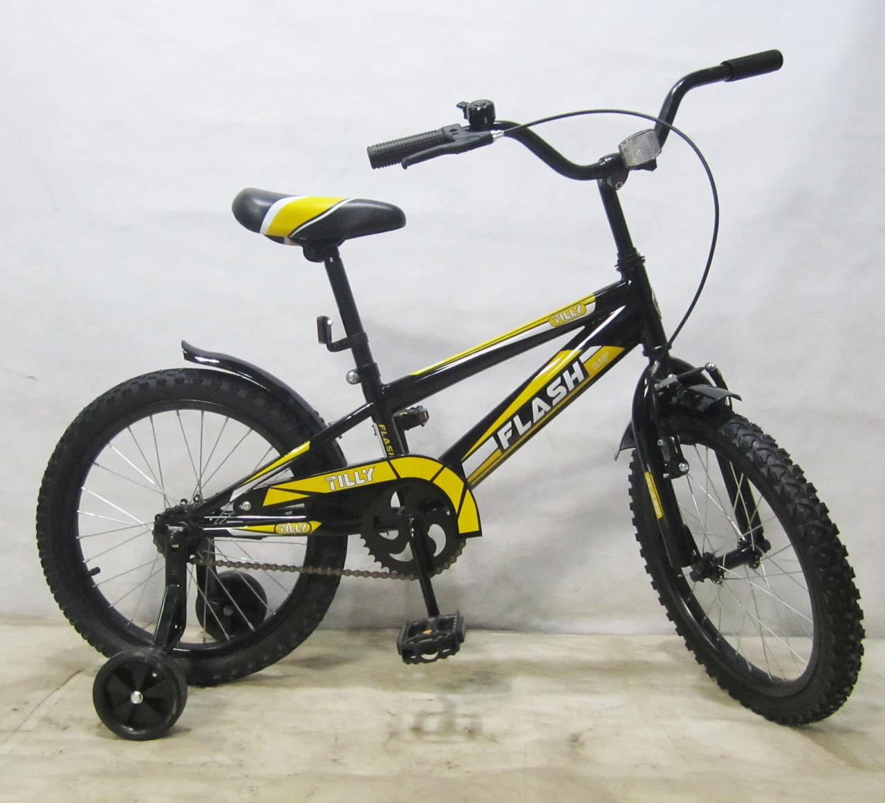 Детский Велосипед TILLY FLASH 18 T-21843 black