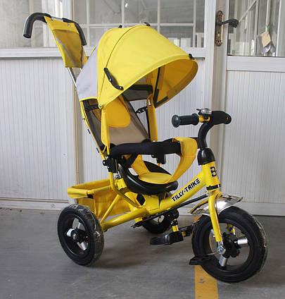 ДЕТСКИЙ Велосипед трехколесный TILLY Trike T-364 ЖЕЛТЫЙ