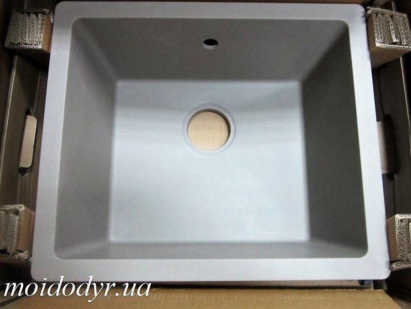 Мойка кухонная гранитная врезная Evistone Modena D-100