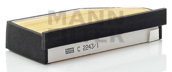 Фильтр воздушный Mann C 2243/1 для мотоцикла BMW K1200