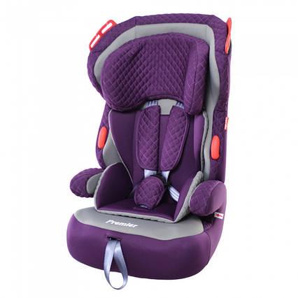 Детское Автокресло CARRELLO Premier CRL-9801 Crown Purple группа 1+2+3