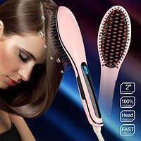 Подарок Электрическая расческа-выпрямитель Fast Hair Straightener HQT-906