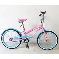 Детский Велосипед TILLY CRUISER 20 T-22032 Pink+Blue