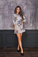 Женское стильное платье  ИК7050 (норма), фото 1