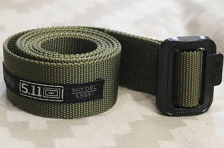Тактический брючной ремень 5.11 (5,11) tactical olive (511olive), фото 2