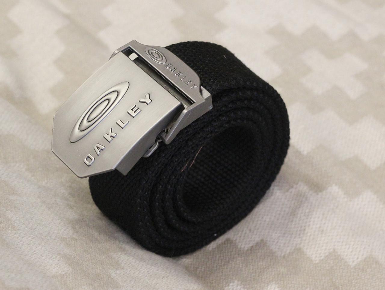 Тактический брючной ремень Oakley с пряжкой tactical black (Oakley)