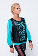 Блуза з українським орнаментом, фото 1