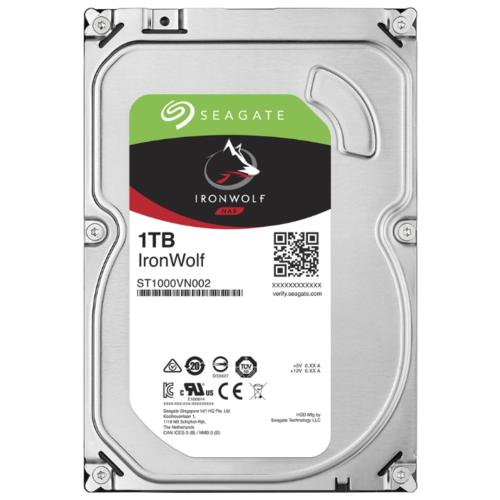 "Жесткий диск (HDD) 3.5"" 1TB Seagate (ST1000VN002)(5900RPM/64M/SATA III)"