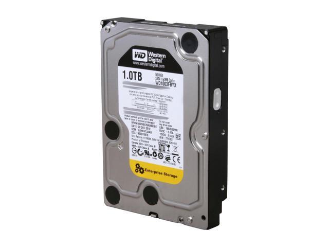 """Жесткий диск (HDD) 3.5"""" 1TB Western Digital (WD1003FBYX) (7200RPM/64M/SATA II)"""