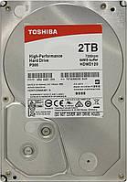"""Жесткий диск (HDD) 3.5"""" 2TB Toshiba (7200RPM/64M/SATA III) (HDWD120UZSVA)"""