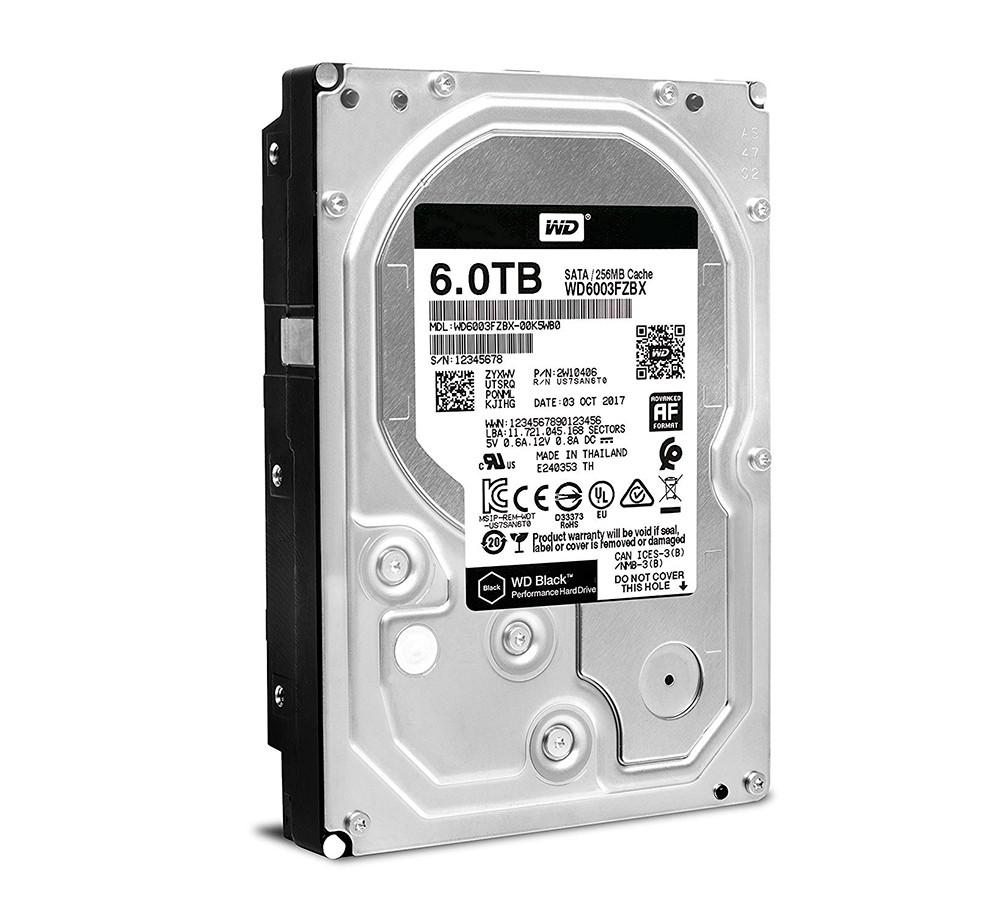 """Жесткий диск (HDD) 3.5"""" 6TB Western Digital (WD6003FZBX) (7200RPM/256M/SATA III)"""