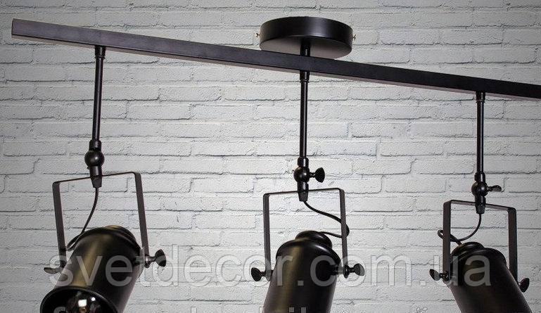 Светильник Loft на 3 лампы