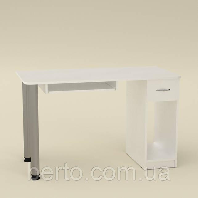 Компьютерный стол СКМ-10 белый