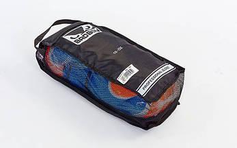Боксерские перчатки кожаные на липучке BAD BOY (12OZ) MA-5433-BK2, фото 3