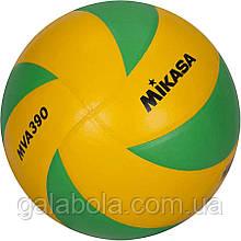 Мяч волейбольный MIKASA MVA 390 CEV (размер 5)