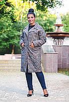 Пальто с карманами БАТАЛ  04с495.1, фото 3