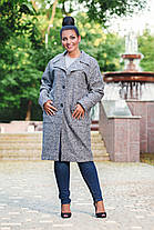 Пальто с карманами на подкладке БАТАЛ 04с495, фото 2