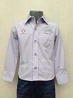 Рубашка нарядная для мальчиков 110,116,122,128 роста