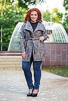 Кардиган с карманами  БАТАЛ 04с496/1, фото 3